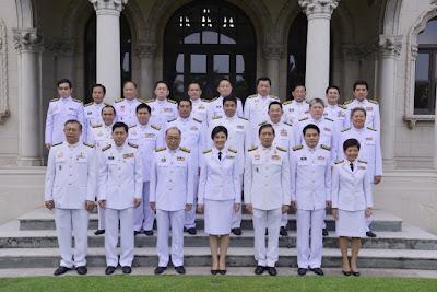 รายชื่อคณะรัฐมนตรีชุดใหม่  2556