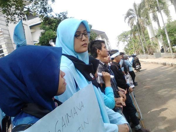 Gerakan mahasiswa Komunikasi Penyiaran Islam (KPI)  UIN Bandung