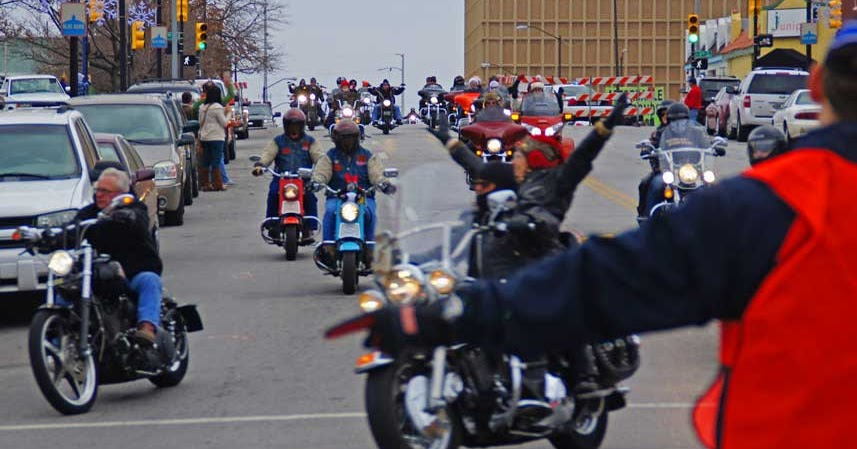 Toys For Tots Motorcycle Run