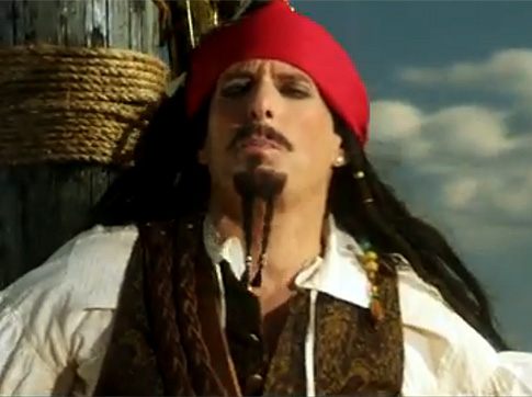 Snl highlight the lonely island s quot jack sparrow quot with michael bolton