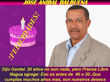 ING. JOSE ANIBAL BALBUENA LO CUMPLE HOY