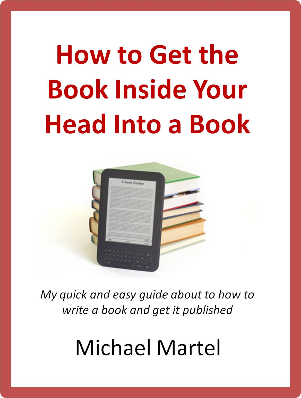 How To Make A Book Cover For Your Book : Write your books