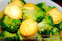 Chinese stir fried tofu and broccoli recipe