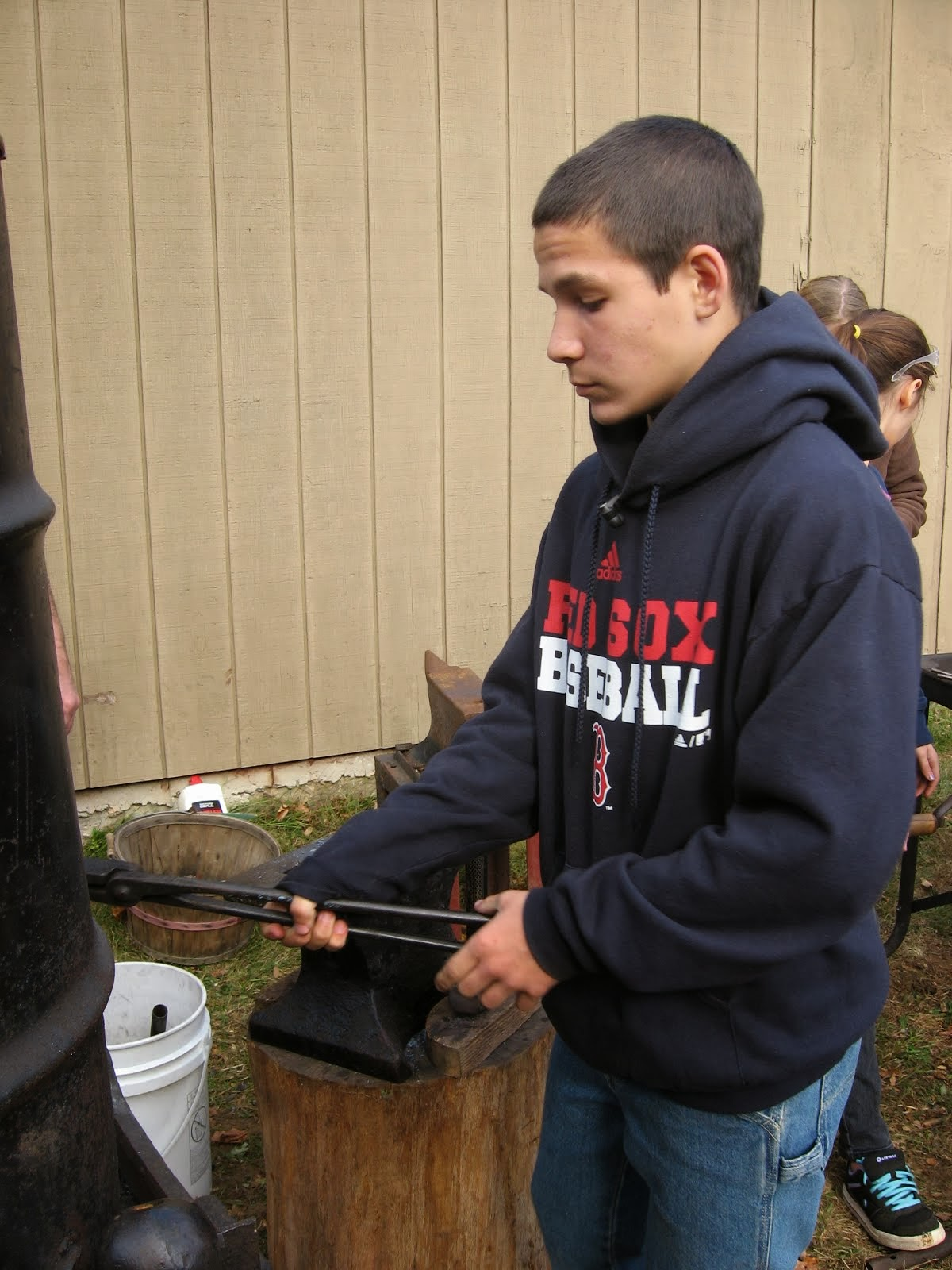 Blacksmithing for Teens
