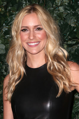 Kristin Cavallari Sexy in Black QVC Red Carpet Style Event