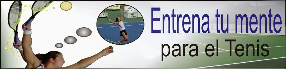 Entrena tu mente para el tenis