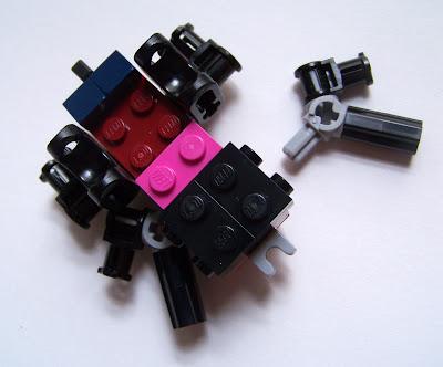 LEGO ant instructions