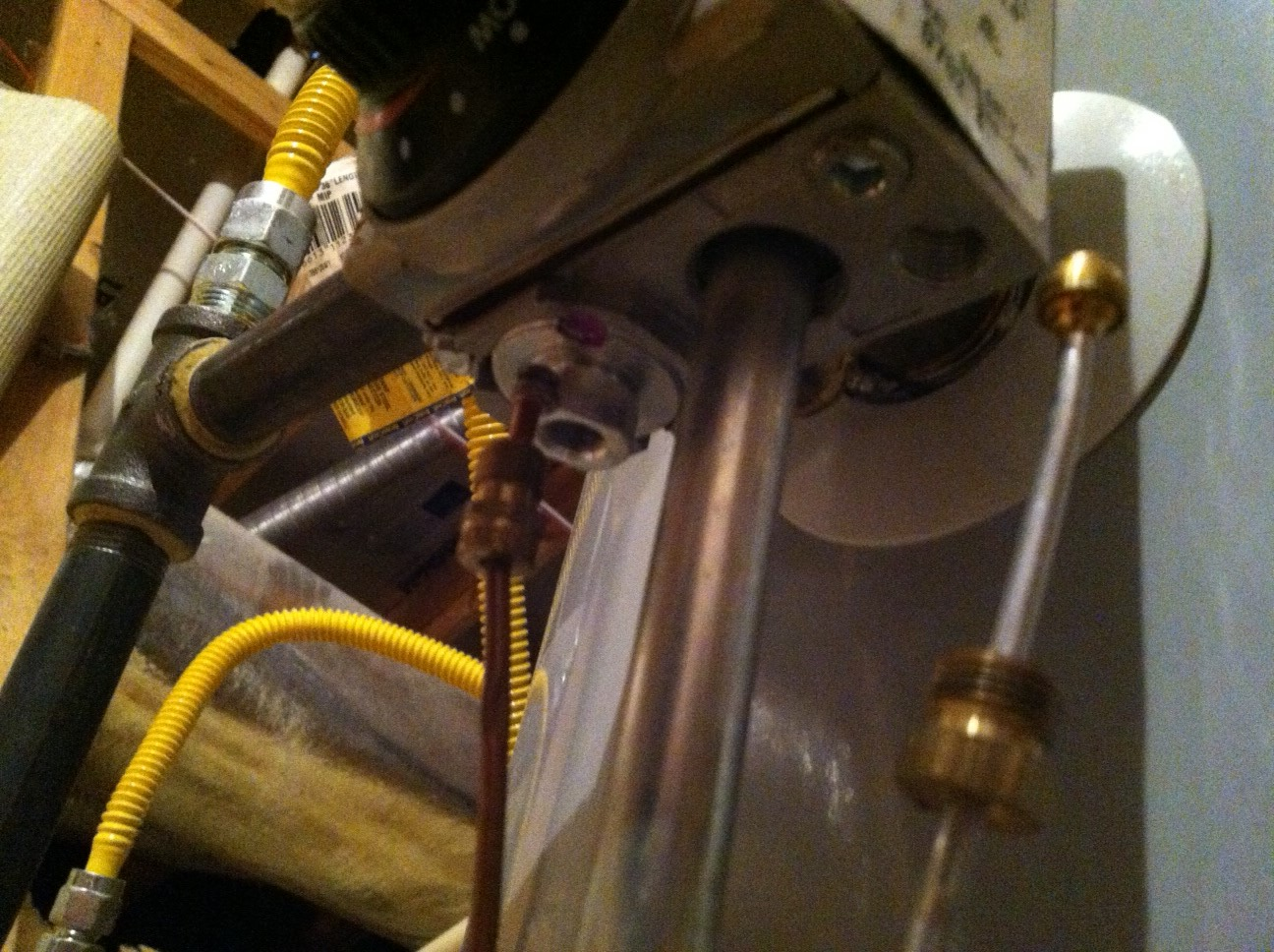 how to fix pilot light on duct heater