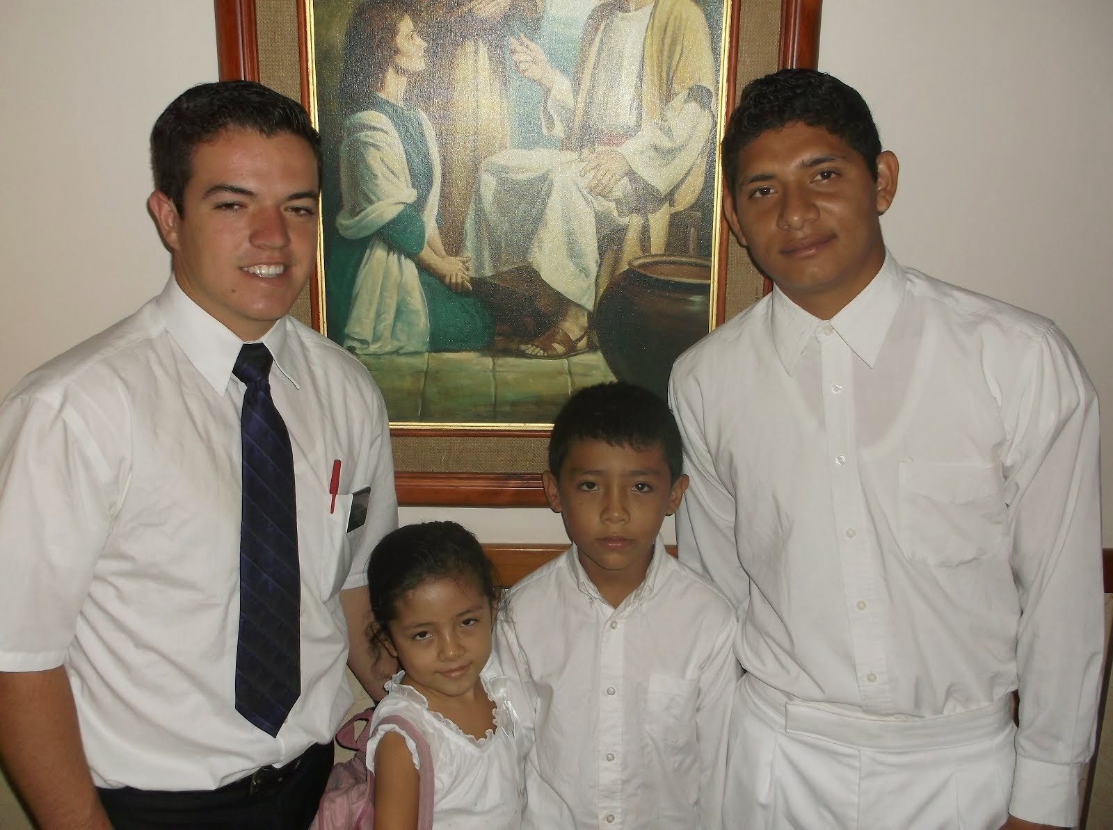 First Baptism, January 26, 2014