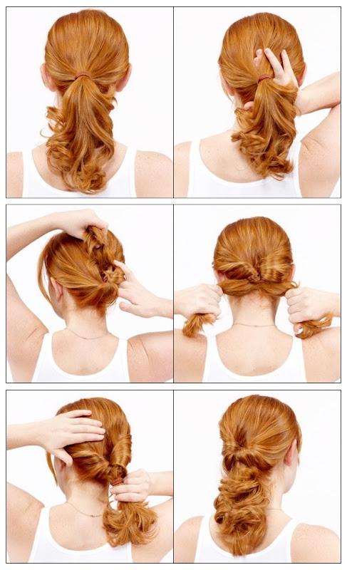 Какую прическу можно сделать волосам поэтапно