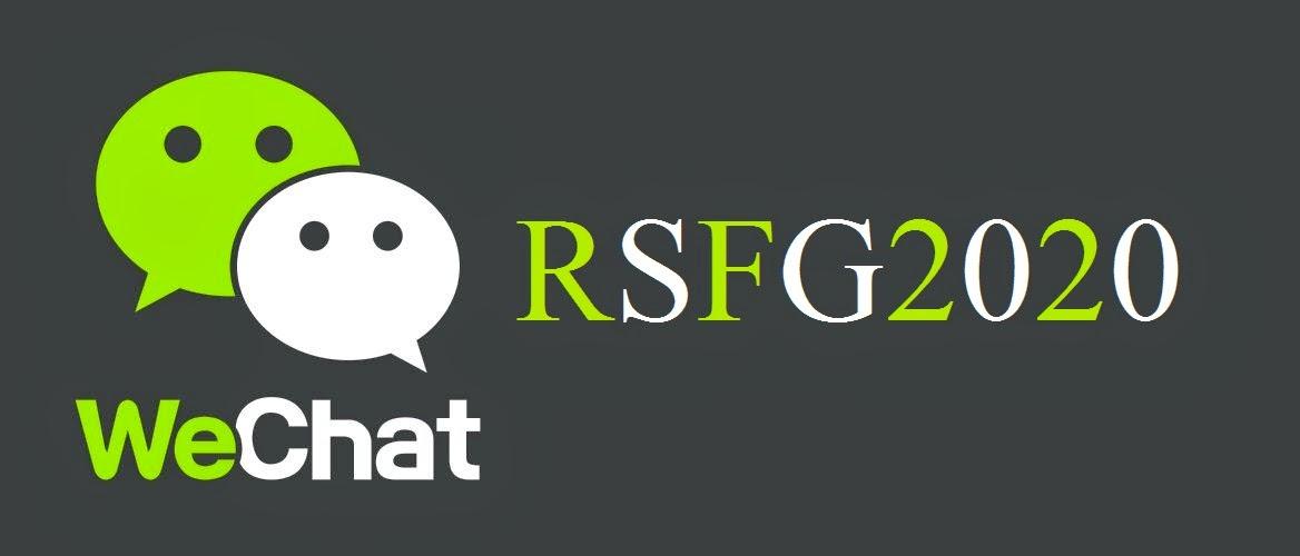 RSFG Wechat ID