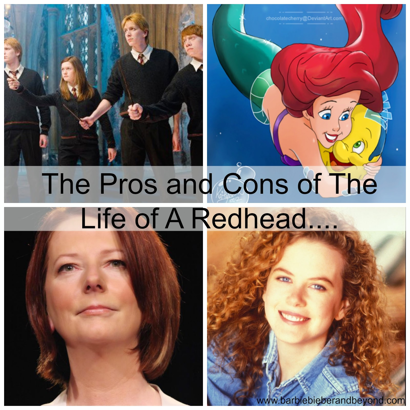 Pros and Cons Being A Redhead