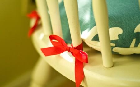 Manualidades - Cojines redondos para sillas ...