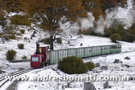 Ushuaia - Tren del Fin del Mundo - Train of the End of the World - Patagonia - Andrés Bonetti