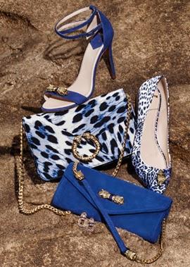 sandálias scarpins e bolsas coleção Roberto Cavalli para C&A