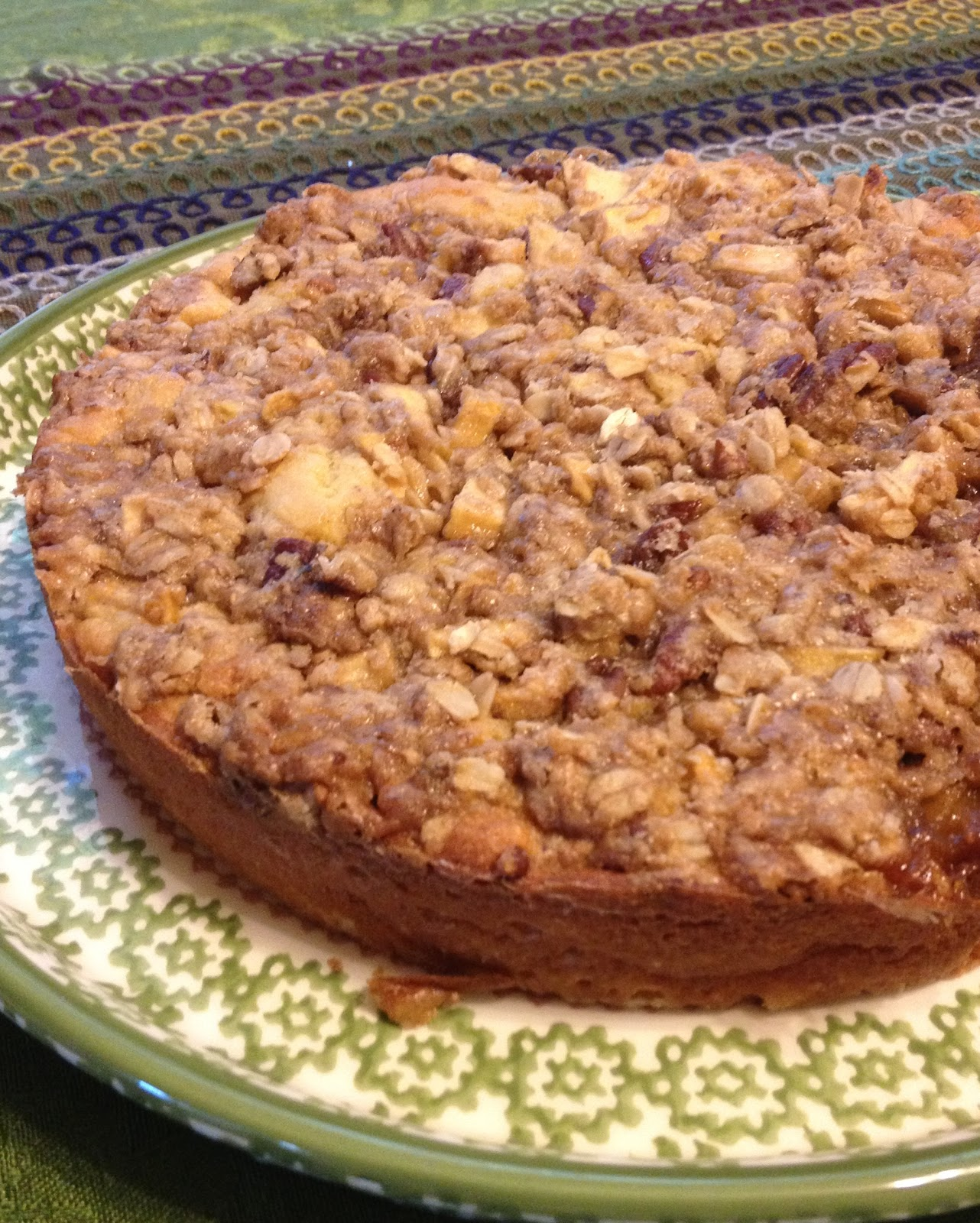 Amazing Apple Crumb Coffee Cake ~ Gluten Free