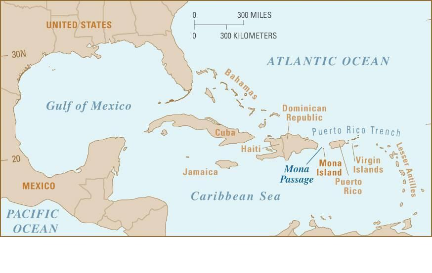 Border CROSSING Stories IMMIGRATION VIA PUERTO RICO - Map of haiti and us
