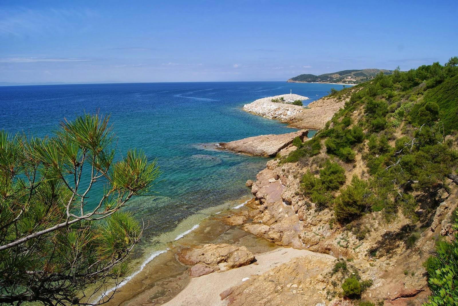 Plaża Metalia, wyspa Thassos