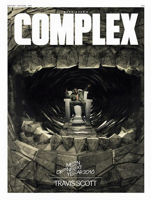 Complex - Travis Scott Man Of The Year magazine new york rapper rodeo