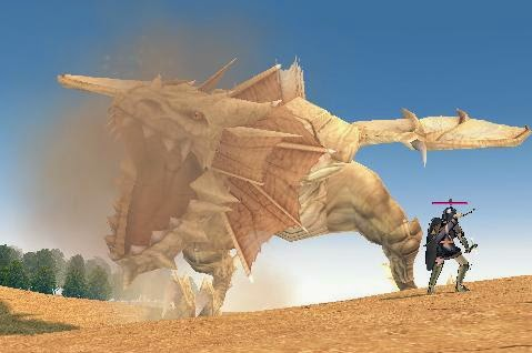 Mabinogi Desert Dragon