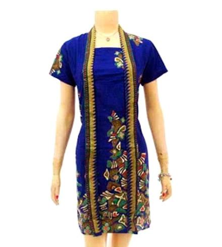 Model Baju Batik Wanita Modern Trend Terbaru Saat Ini