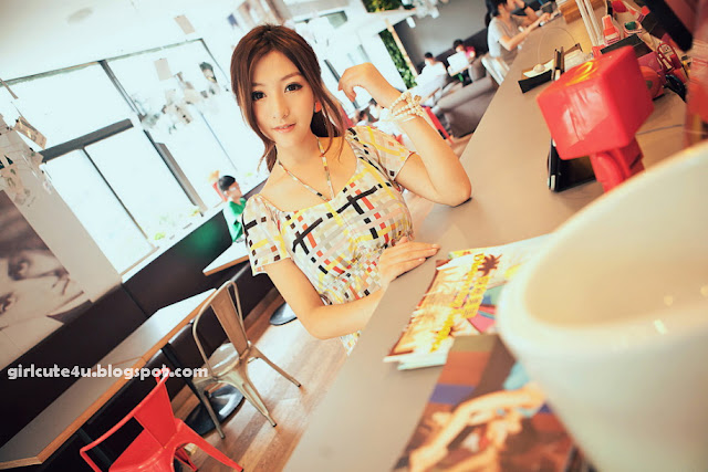 Chinese-Cafe-02-very cute asian girl-girlcute4u.blogspot.com