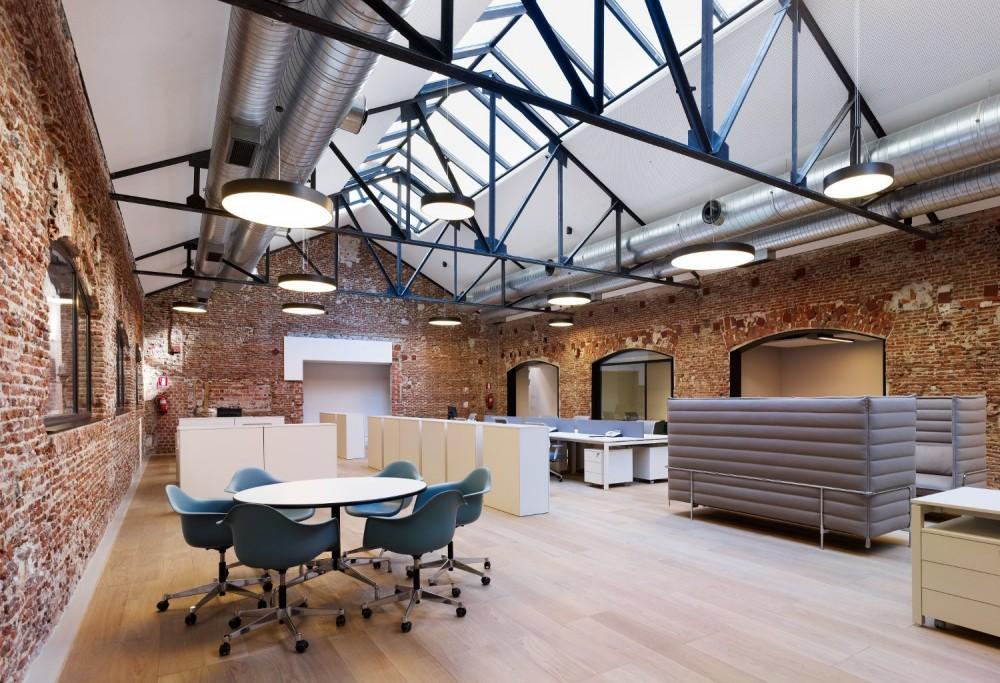 Re plantea oficinas fundaci n bot n - Arquitecto de interiores madrid ...