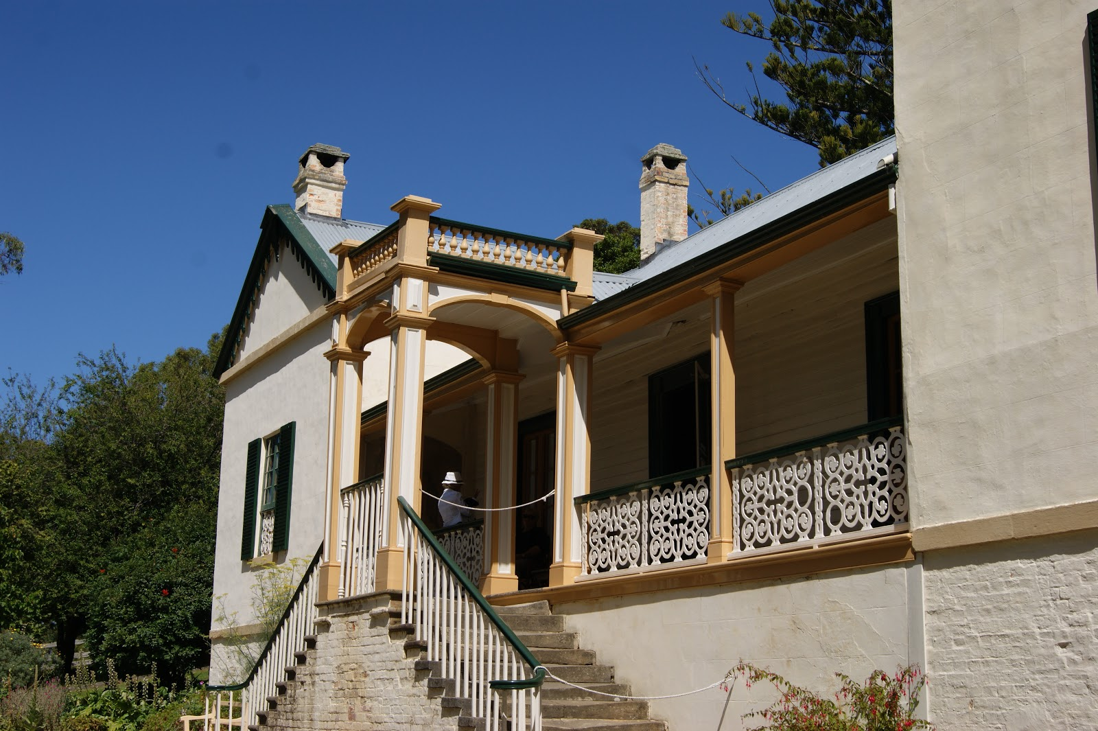 On the convict trail the commandants house port arthur commandant charles booth moved into the four room cottage in 1833 it was surrounded by a verandah closed in by green venetian blinds malvernweather Choice Image