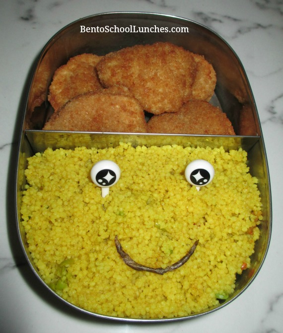 Warmables Lunchbox Kit Review. Curry couscous