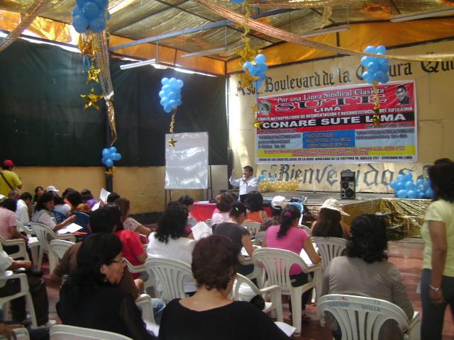 Sute lima clasista concluye seminario gratuito de for Concurso para plazas docentes