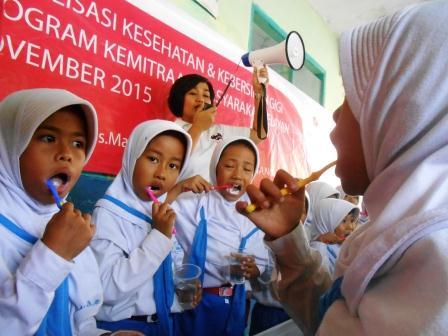 PHE ONWJ Selenggarakan Penyuluhan Gizi dan Gigi Sehat