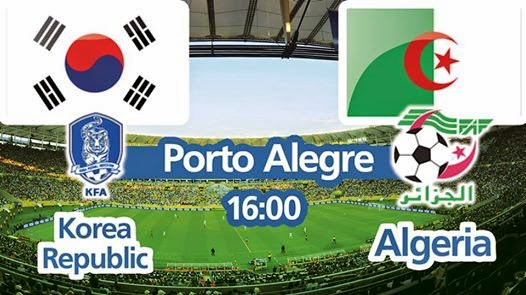 FULL TIME Korea Republic VS Algeria 2014 WORLD CUP