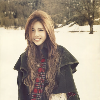 Beautiful T-ara Qri in Swiss