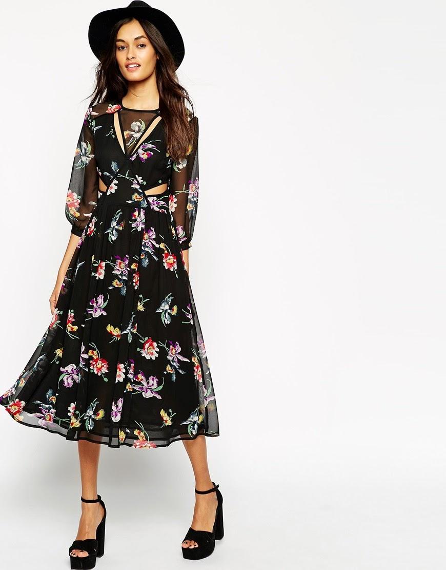 boho black dress,
