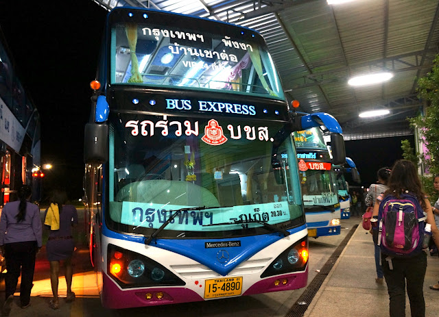 Bus VIP de Bangkok à Phuket