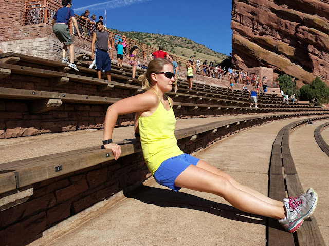 Red Rocks Workout - Tricep Dips