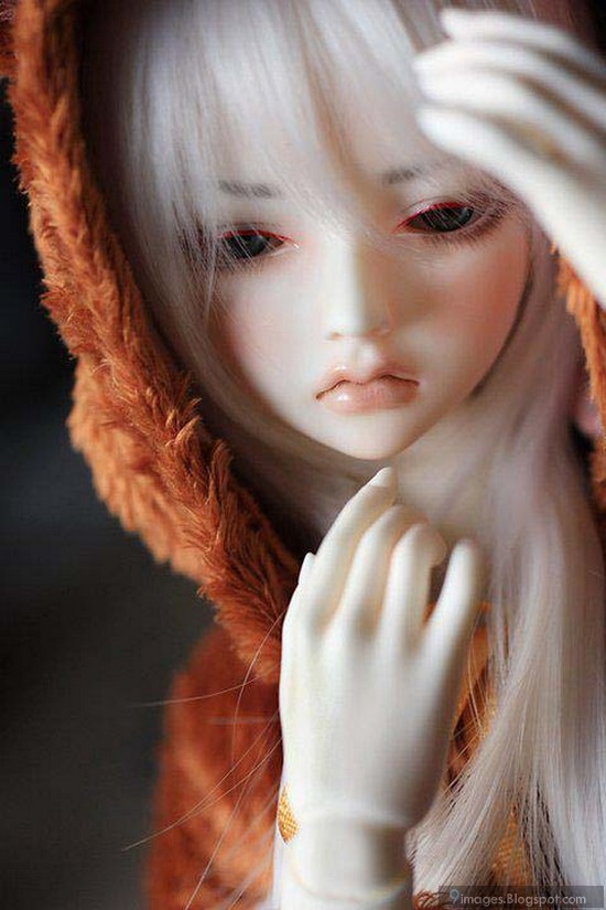 Sad doll girl cute barbie alone classy pretty