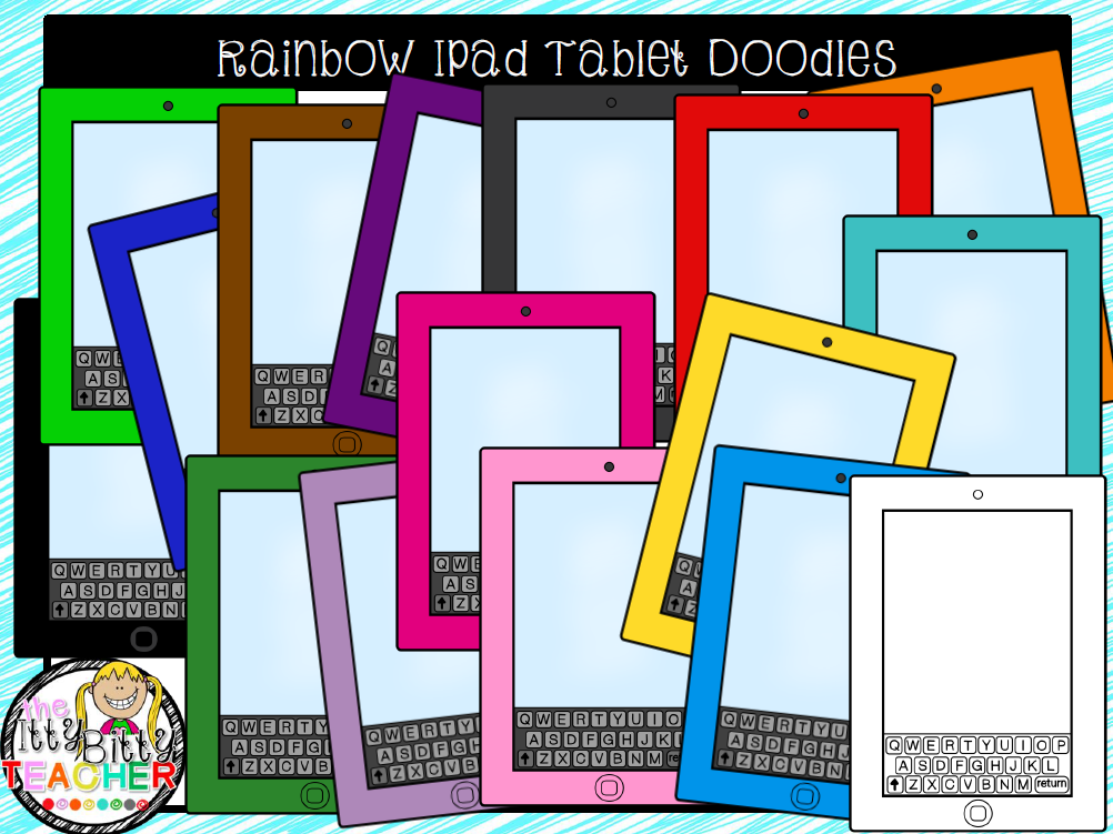 https://www.teacherspayteachers.com/Product/Clipart-Rainbow-Ipad-Tablet-Doodles-1733690