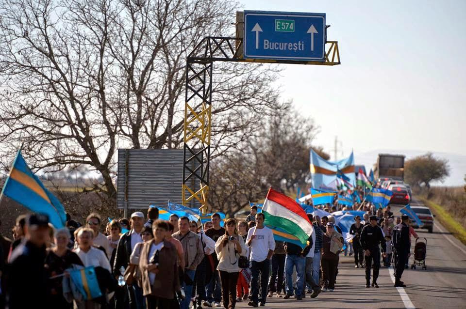 MTI, Beliczay László, fotóriporter, Orbán Viktor, a székelyek nagy menetelése