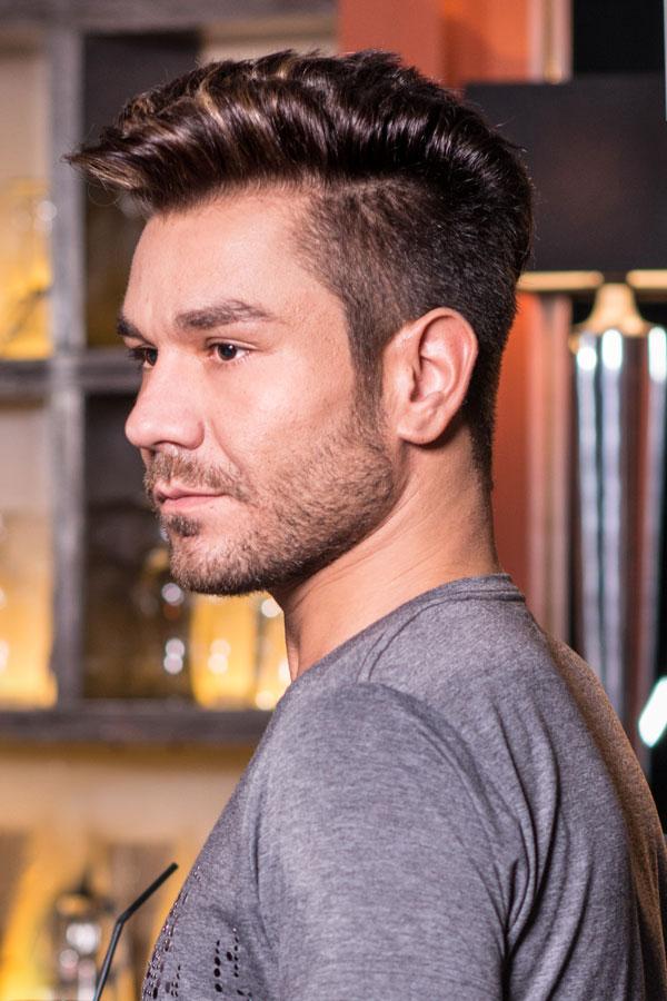 Peinados de moda para hombres cortes peinados y estilos - Peinados para hombres fotos ...