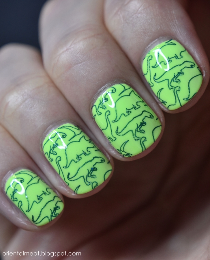 China Glaze-Grass is lime greener