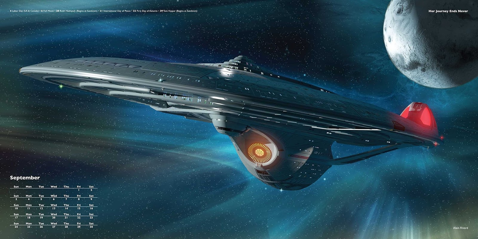 The Trek Collective: 2017 Star Trek calendars revealed