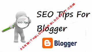 SEO For Blogger Blog
