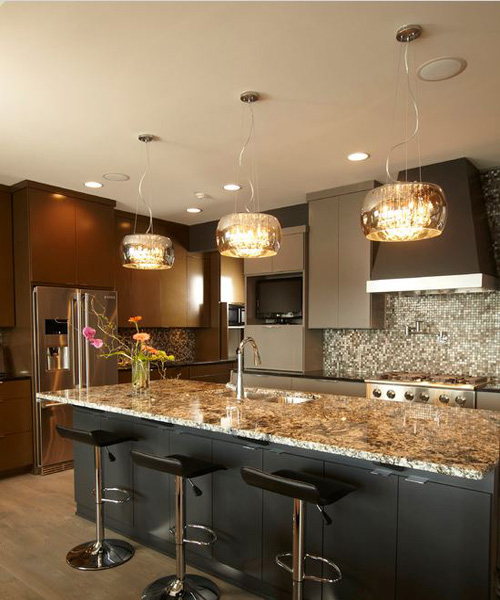 modern lighting ideas for kitchens 2014