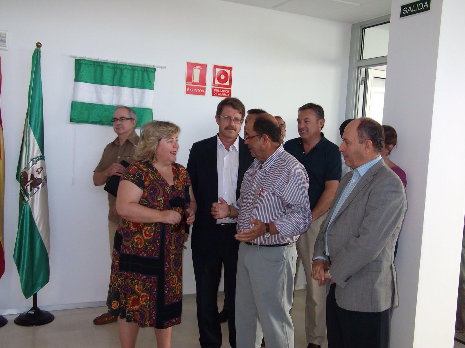 Bolet n digital de cazalla de la sierra inauguracion de for Oficina comarcal agraria