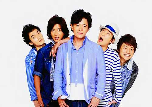 SMAP vocal group