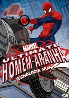 Filme Poster Ultimate Homem-Aranha: Tecnologia Aranha DVDRip XviD Dual Audio & RMVB Dublado