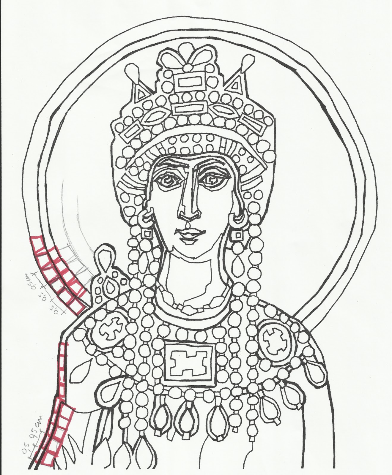 Immagini di mosaici da colorare hj45 regardsdefemmes for Disegni per mosaici da stampare