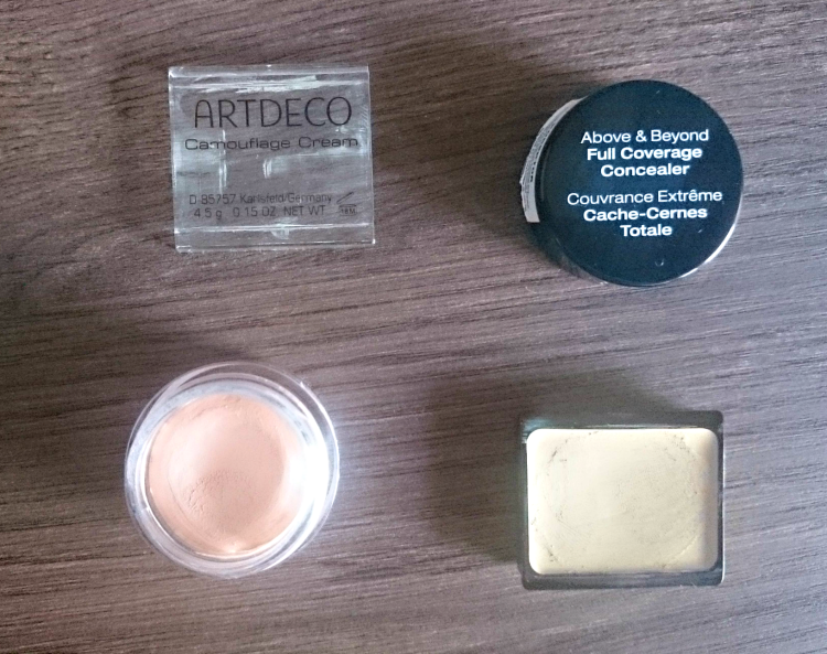 artdeco camouflage cream nyx full cover