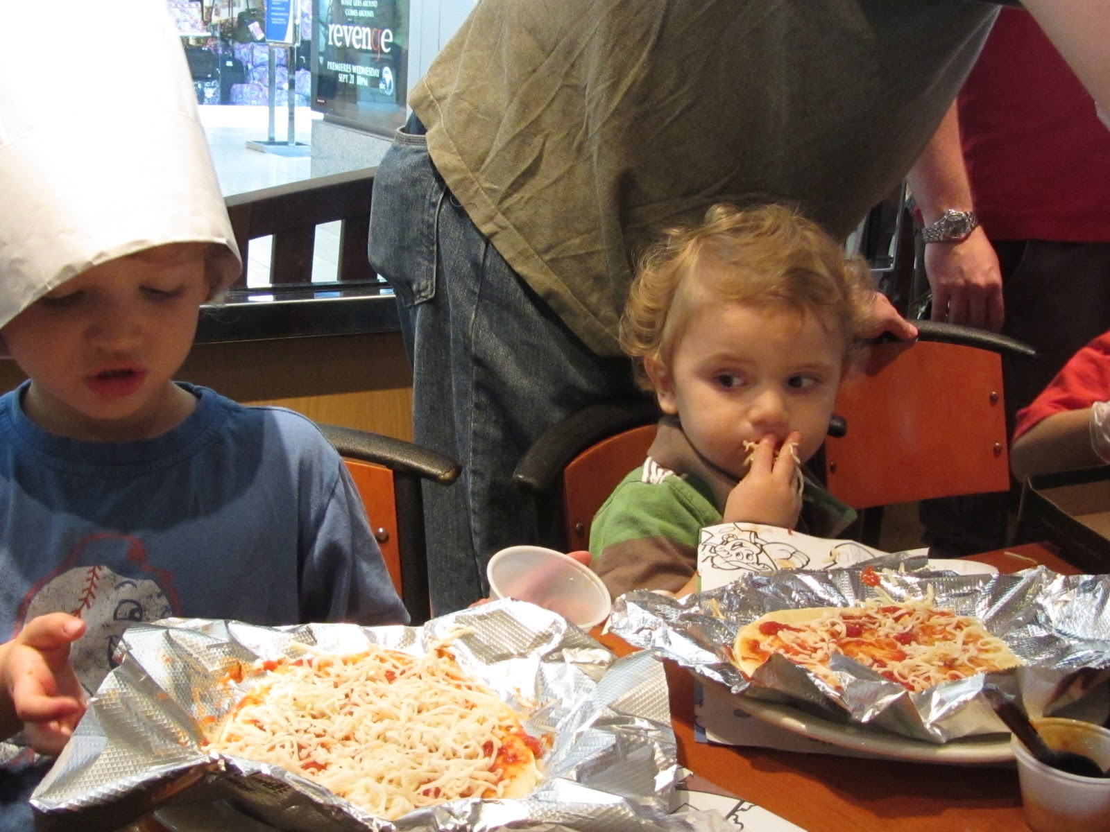 Quality Time Mom Kids Birthday Party At California Pizza Kitchen